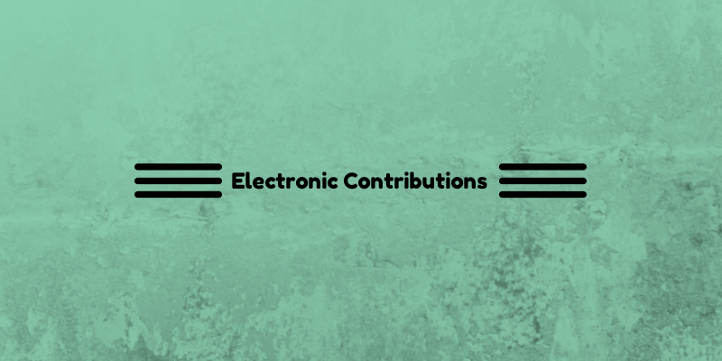 Electronic Contributions