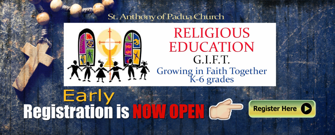 EARLY GIFT REGISTRATION