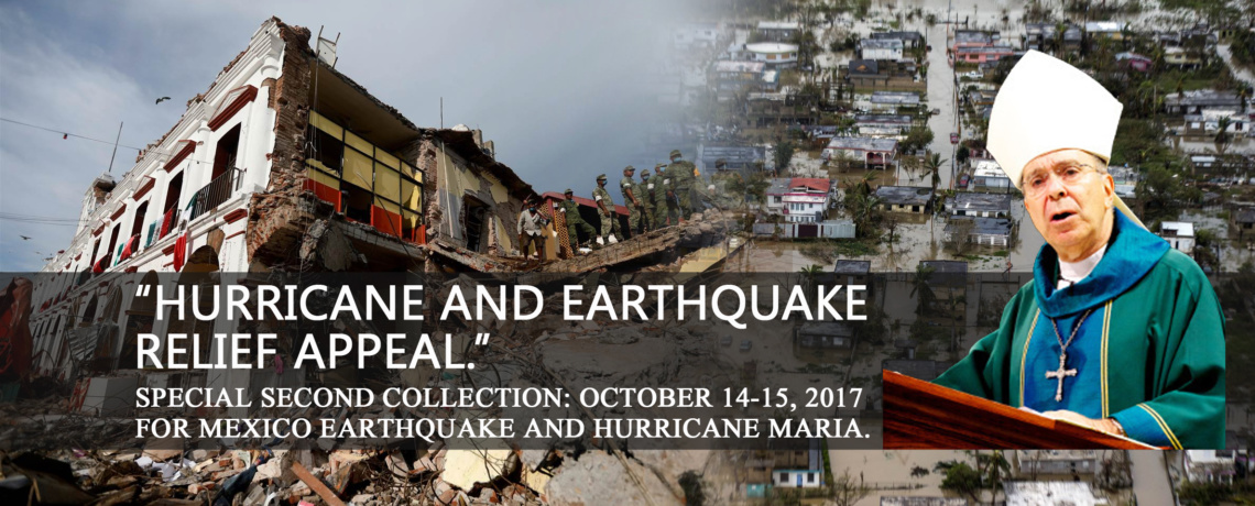 Hurricane and Earthquake Relief Appeal